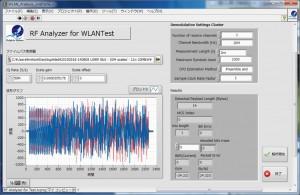 切り出したフレームのデータを無線LANツールキットで解析出来た図